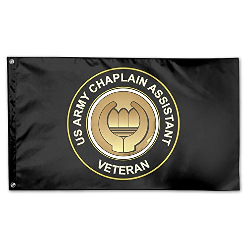 Chaplain Flag - Toxic Smo US Army Veteran Chaplain Assistant Garden Flag 3 X 5 Flag For Outdoor Decoration Banner Black