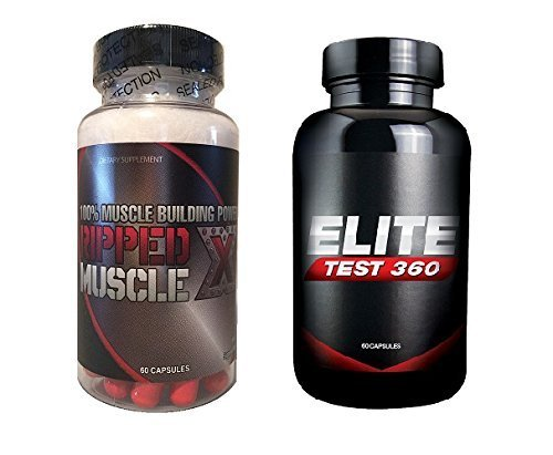 Ripped Muscle X and Elite Test 360 Bundle