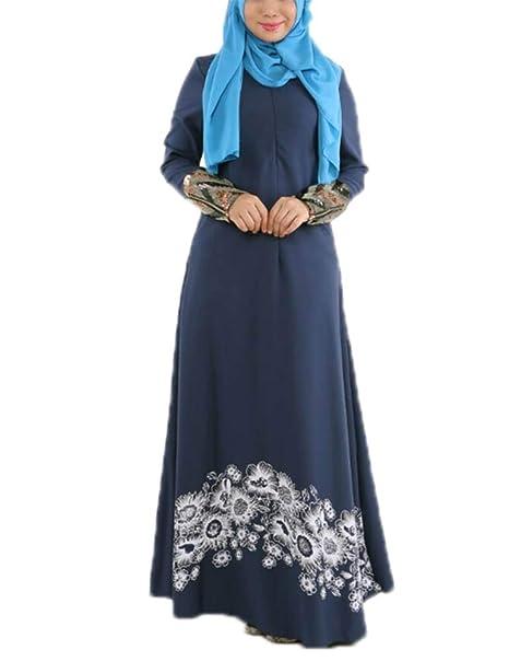 Domorebest Falda Larga musulmán de Las Mujeres de Que Suelta: Amazon.es: Ropa y accesorios