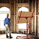 SUNCOO 11' Drywall Lift Rolling Lifter Panel