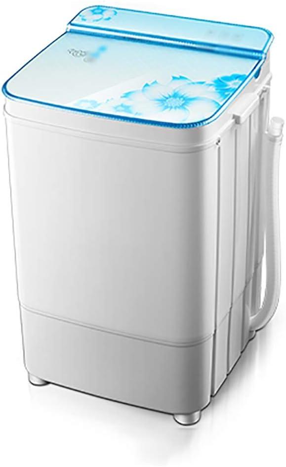 Lavadora portatil 5kg gran lavadora capacidad, de un solo cilindro de la máquina semi-automática de lavado, lavadora semi-automático con la bomba de drenaje, ahorro de energía, funcionamiento estable