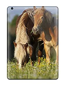 Ipad Case - Tpu Case Protective For Ipad Air- Grazing Horses