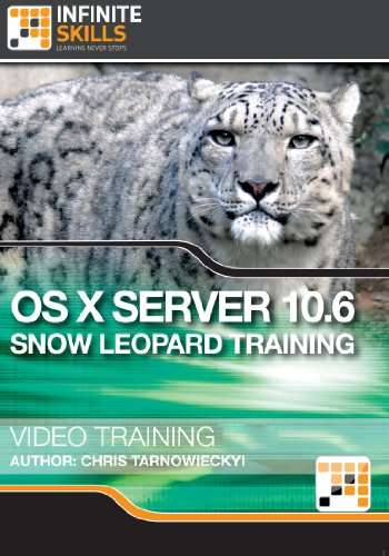 OS X Server 10.6 Snow Leopard - Training Course for Mac [Download] by Infiniteskills