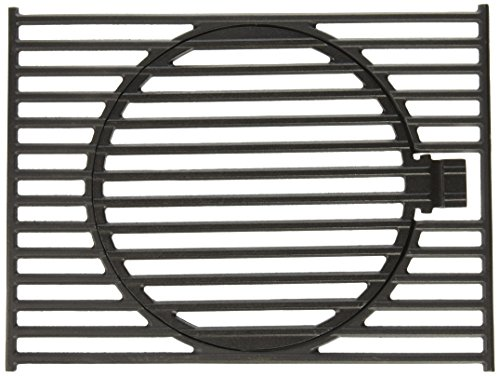 (Music City Metals 64332 Matte Cast Iron Cooking Grid Replacement for Gas Grill Model Stok SGP4330SB, Set of 2)