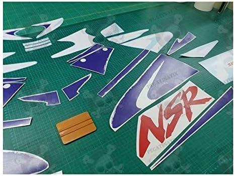 Aufkleber Für Honda Nsr 125 Year 1998 1999 Originalgröße Auto