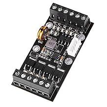 Controlador PLC, soporte de la placa del módulo regulador Control PLC con interruptor de control de velocidad FX1N-14MR Módulo controlador de relé