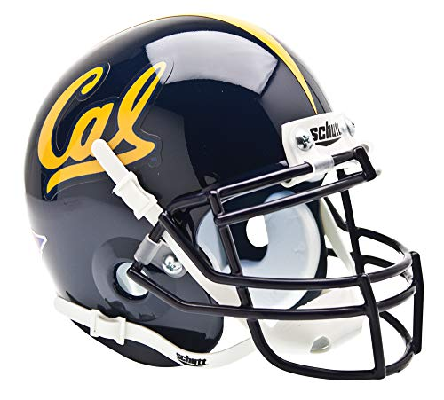 - NCAA Cal Golden Bears Collectible Mini Football Helmet