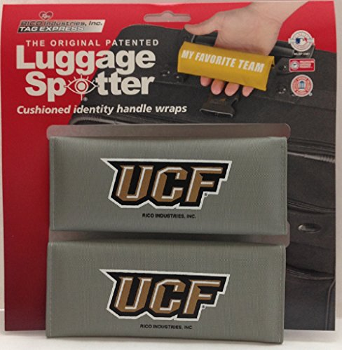 Luggage Spotter UCF Luggage Locator/Handle Grip/Luggage Grip/Travel Bag Tag/Luggage Handle Wrap (2-pack) – CLOSEOUT! SELLING FAST! ONLY A FEW LEFT! by Luggage Spotter