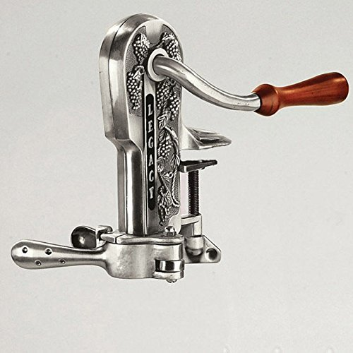 Pewter Antique Corkscrew - 2