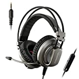 XIBERIA 3.5mm Surround Sound Gaming Headset with Microphone and Volume Control for PC / Laptop / Xbox One