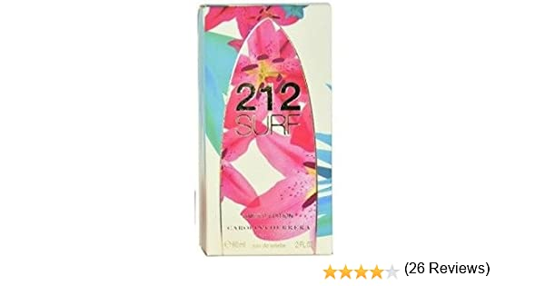 Carolina Herrera 212 Surf Perfume con vaporizador - 60 ml: Amazon.es: Alimentación y bebidas