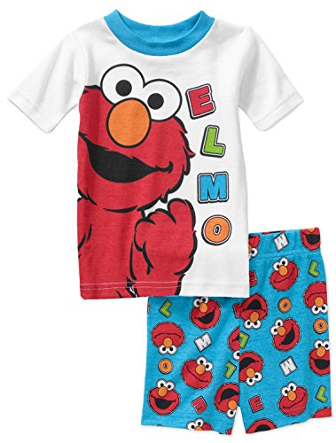 Sesame Street Piece Shorts Pajama