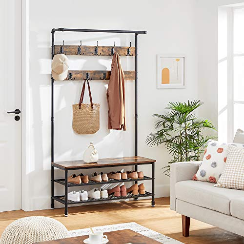 Get 10% off an industrial coat rack