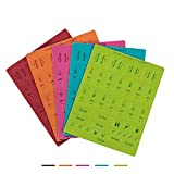 5 Pieces Self Adhesive DIY Leather Monthly Calendar Index Tabs Reminder Stickers Flags for Appointment Book Events Diary Scrapbook Personal Planner