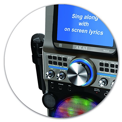 Akai KS838-BT The Ultimate Bluetooth Party Machine, 7'' by Akai (Image #7)