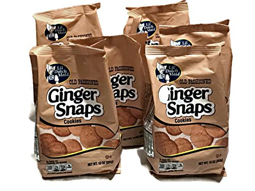 Snaps Cookies (6 10oz bags) (Old Fashioned Ginger Snaps)