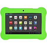 SODIAL(R) 4GB Android 4.4 Wi-Fi Tablet PC Beautiful 7 inch Five-Point Multitouch Display - Special Kids Edition Green