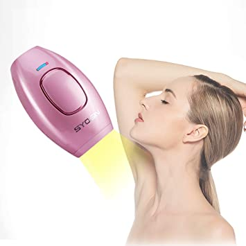 SYOSIN IPL Hair Removal System Light Epilator 400,000 flashes of Permanent  Hair Removal for Women