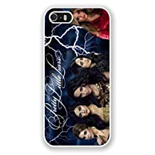 iPhone 5S Phone Case,Pretty Little Liars Popular Gifts Case Cover for iPhone 5,5S and iPhone SE(White)