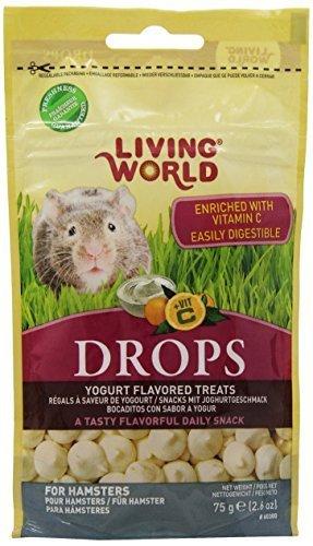 Vida Mundo caídas hámster Treat, 2.6-Ounce, yogur por vida mundo Living World