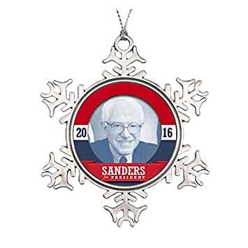 Amazon.com: BERNIE SANDERS 2016 CERAMIC ROUND CHRISTMAS ORNAMENT ...