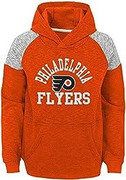 NHL Youth 8-20 Team Color Hat Trick Pullover Sweatshirt Fleece Hoodie