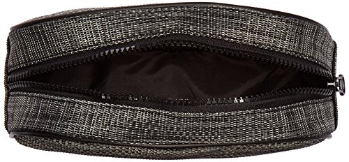 DII Toiletry Bag, Portable Travel Organizer, Cosmetic Make up Bag for Women, Men Accessories, Shampoo, Personal Items, Medicine Pouch – Half Round Black