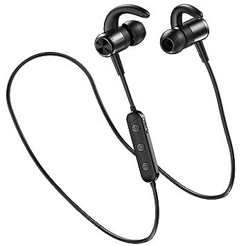 04e7ee96ff1 Auriculares Bluetooth Deportivos, Zedela In-Ear Cascos Inálambricos  estéreo,Auriculares magnéticos Bluetooth 4.2 Correr con Mic, Resistente al  Agua IPX5 ...