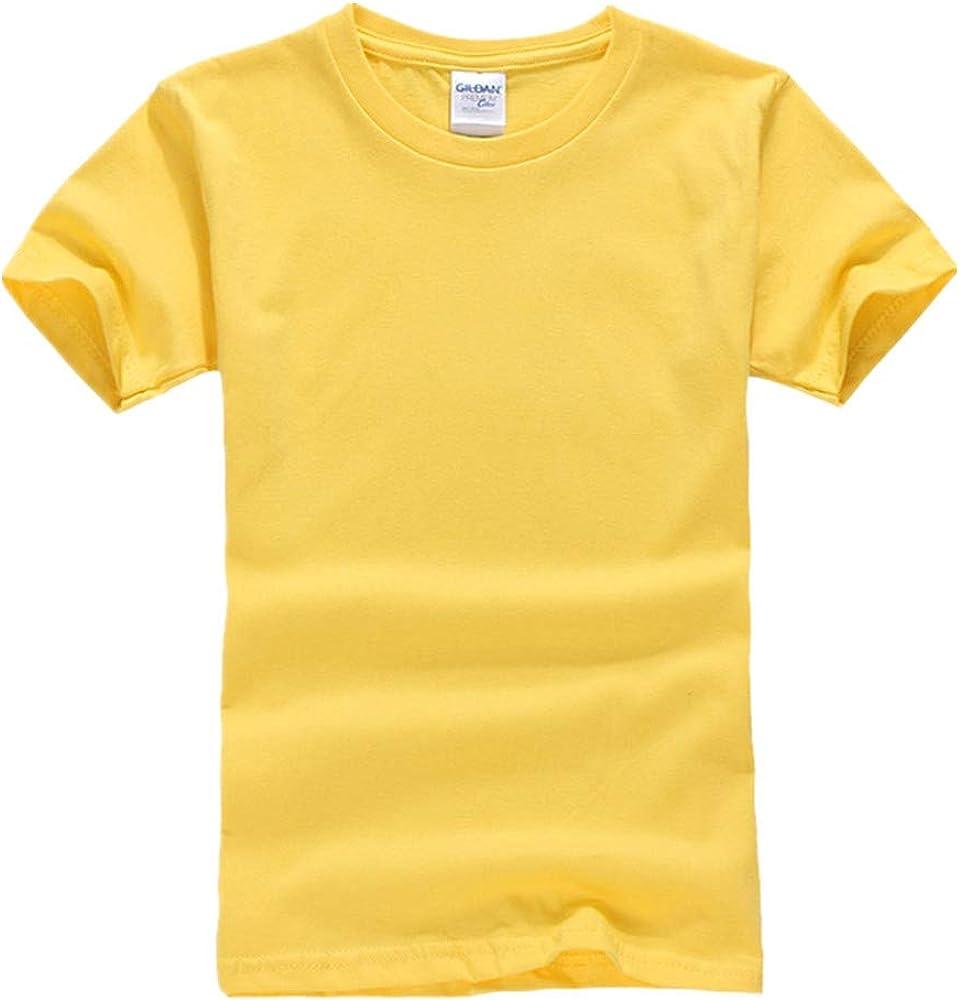 DREAMING-Camiseta De Manga Corta De Algodón Peinado para Niños Camiseta De Cuello Redondo Juvenil Ropa para Niños: Amazon.es: Ropa y accesorios