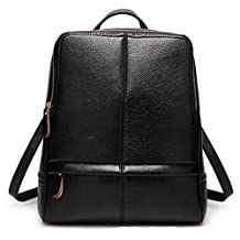 LOMOL Newest Girls Fashion Personality Student Style High Quality Leather Tote Top-handle Handbag Backpack