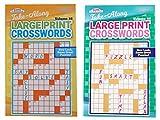 Kappa Take Along Large Print Crosswords 2 Pack Volume 58 and Volume 59
