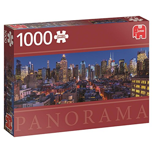Jumbo New York Skyline Panoramic Puzzle (1000 piece)