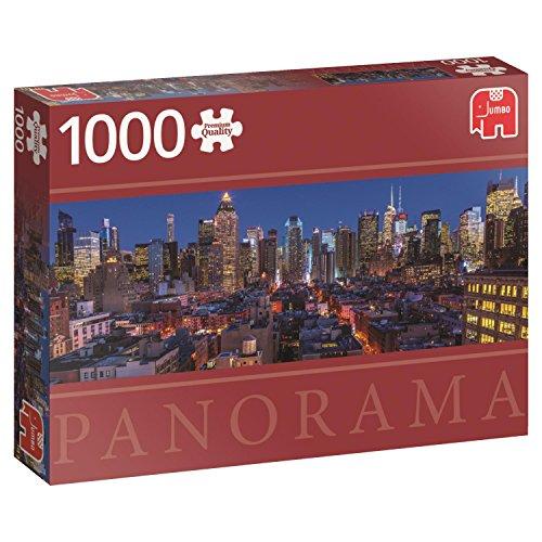 Jumbo New York Skyline Panoramic Puzzle (1000 piece)