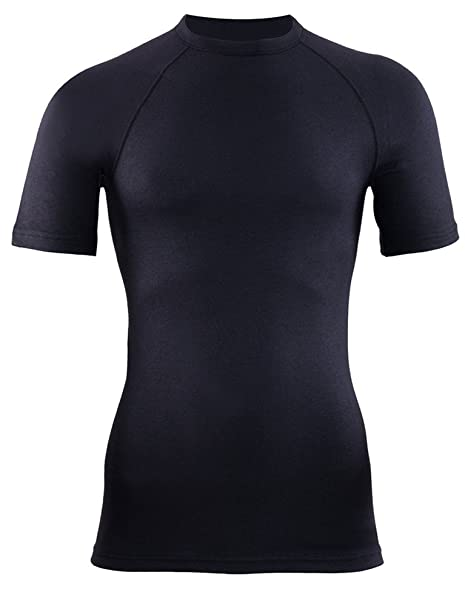 Blackspade - Camiseta térmica - para Hombre Negro Negro 44