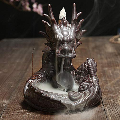 Ludage Home Accessories Crafts, Back to Incense Burner Ceramic Antique Home Creative Ornaments 1517.8cm by Ludage