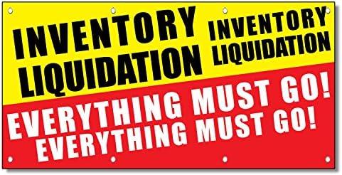 Amazon.com: Inventario liquidación todo debe Go 13 oz Banner ...