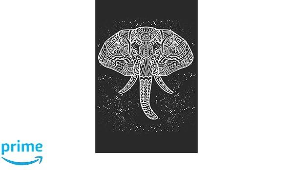 Colorido Mandala de Elefante Yoga Meditación Namaste: 120 ...