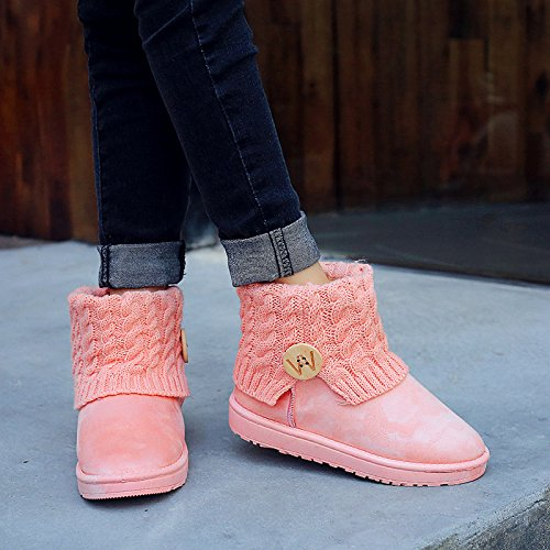 And Women'S Autumn Pink In Boots Winter ZAAOxqYw