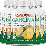 Tone Fire Garcinia Pills - Advanced Weight Loss - Thermogenic Fat Burning Formula (5 Month Supply)