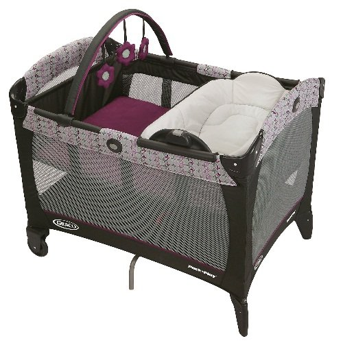 Graco Pack 'N Play Playard w/ Reversible Napper & Changer Nyssa by Graco