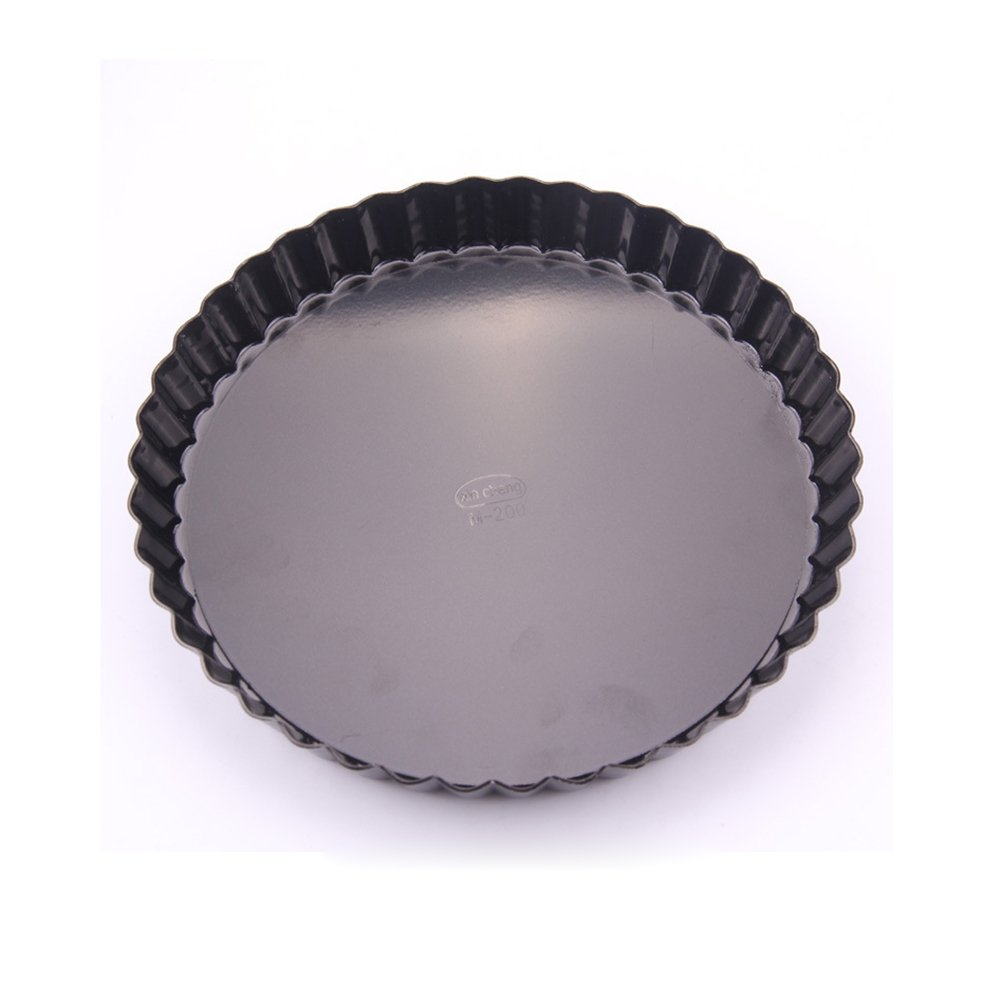Gabkey 2 Pack Quiche and Tart Pan 6 inch(16cm) Removable Bottom