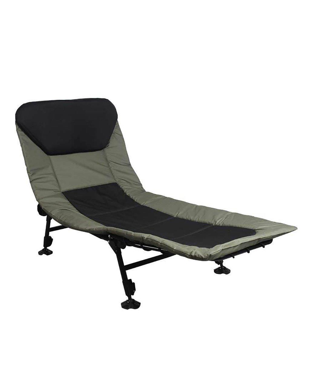 LIANJUN Fischerstuhl Sun Lounger Stuhl Faltbarer Fischerstuhl Verstellbarer Garten Patio Liegender Camping Outdoor Campingstuhl