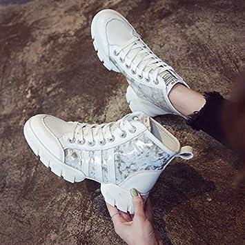 Shukun Botines Alto para Ayudar a los pequeños Zapatos ...