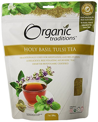 Organic Traditions Teas, Holy Basil Tulsi Tea, 7 ()