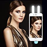 Bright Selfie Light Advanced Edition - VANZAVANZU 10 Led Selfie Light (2017 New Design) Electrify by Phone Port, High bright In the Dark, Perfect for Party, Christmas and concert.
