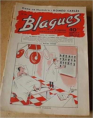 Livres gratuits en ligne Blagues n° 86 - dans ce numéro Roméo Carlès pdf ebook