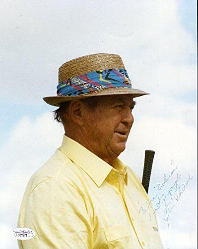 Signed Sam Snead Picture - Certed 8x10 - JSA Certified - Autographed Golf (Golf Certified Autograph 8x10 Photo)