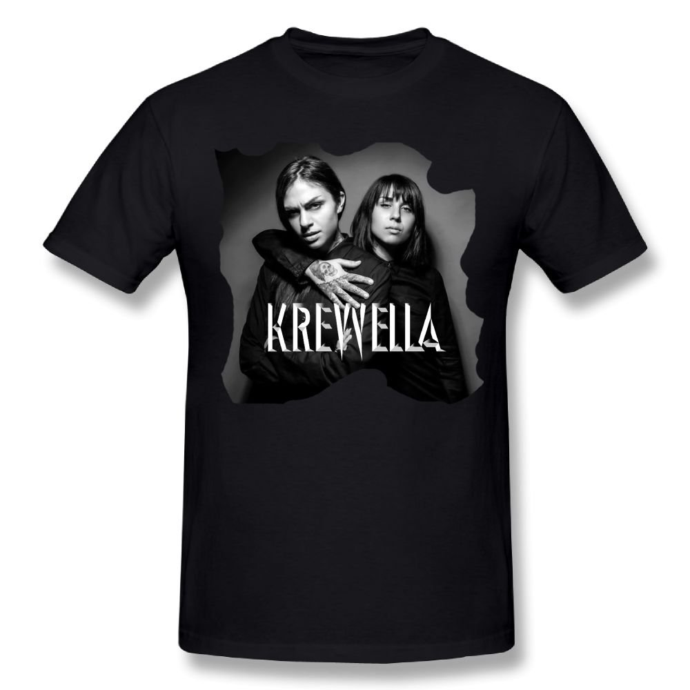 RobertJ.Rivera Mans Krewella Shopping Cotton Breathable Adult T Shirts Gift XL
