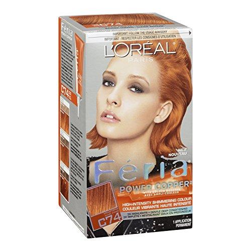 L Oreal Paris Feria Hair Color Power Copper L Oreal