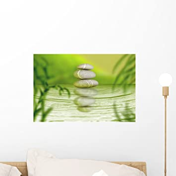 highest quality wall decal sticker Bamboo Spa
